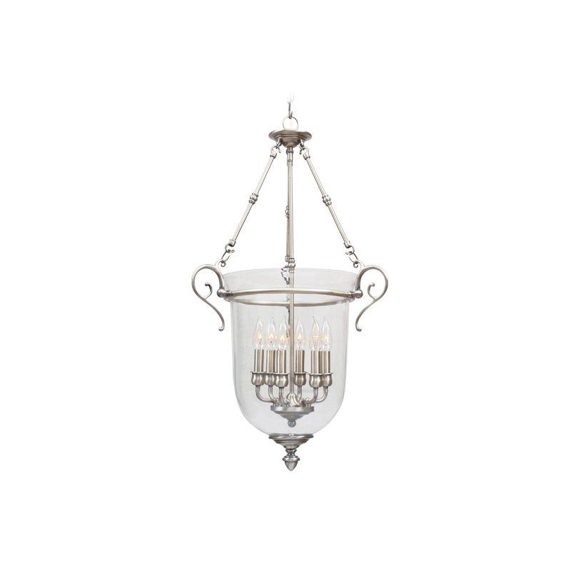 Livex Lighting 5023 Legacy 6 Light Pendant Brushed Nickel Indoor Sale $599.90 ITEM: bci1034137 ID#:5023-91 UPC: 847284016675 :