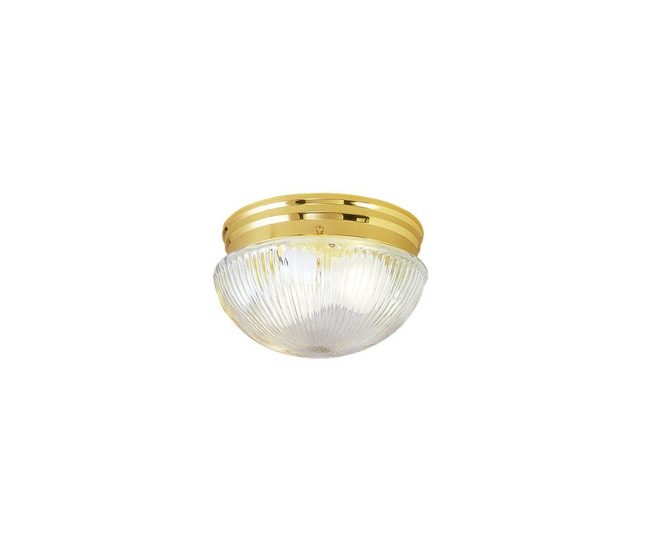 Livex Lighting 6080 Ceiling Mount 1 Light Flush Mount Ceiling Fixture