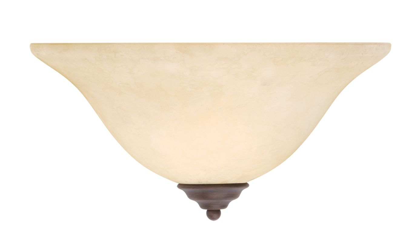 Livex Lighting 6120 Coronado 1 Light Wall Sconce Imperial Bronze