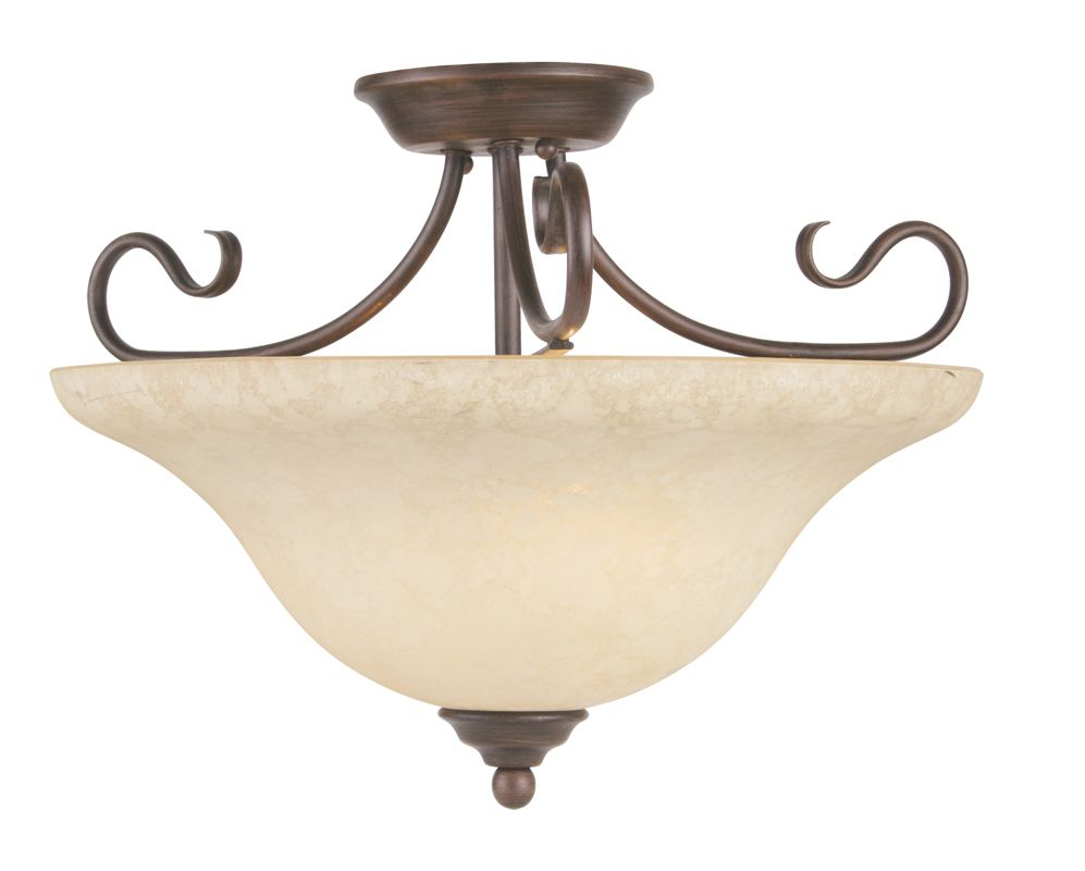 Livex Lighting 6130 Coronado 3 Light Semi-Flush Ceiling Fixture Sale $159.90 ITEM: bci1034323 ID#:6130-58 UPC: 847284002142 :