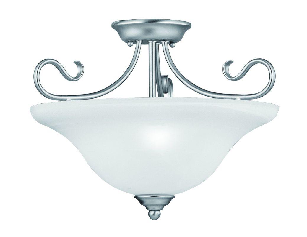 Livex Lighting 6130 Coronado 3 Light Semi-Flush Ceiling Fixture Sale $159.90 ITEM: bci1791248 ID#:6130-91 UPC: 847284005839 :