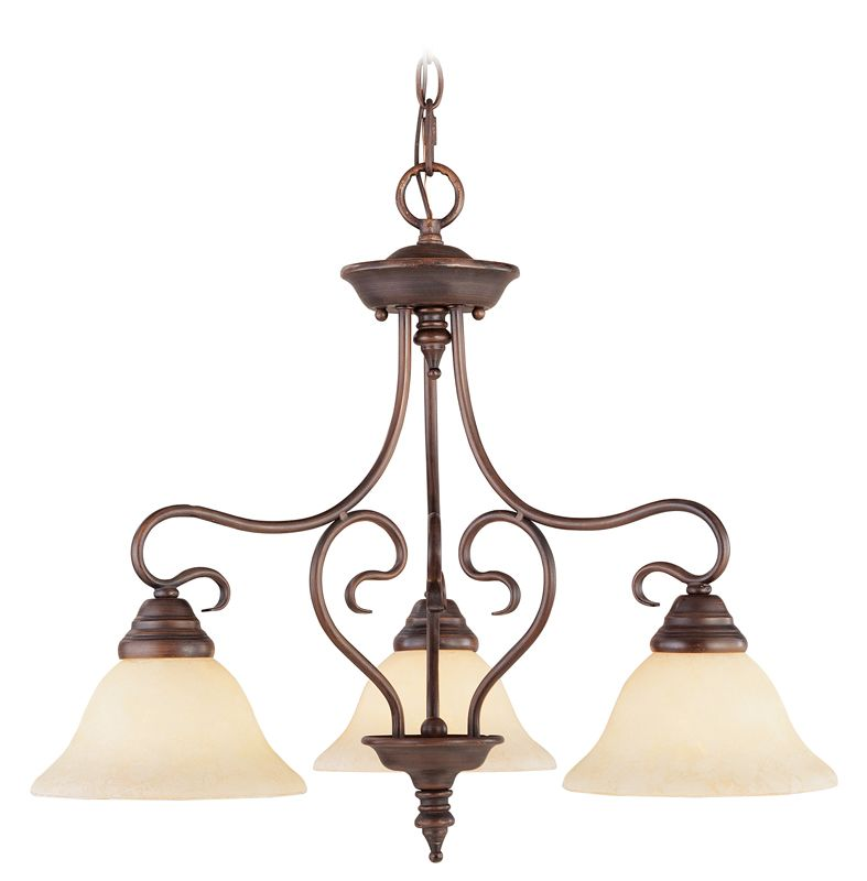 Livex Lighting 6133 Coronado 3 Light Semi-Flush Ceiling Fixture Sale $179.90 ITEM: bci1034328 ID#:6133-58 UPC: 847284002166 :