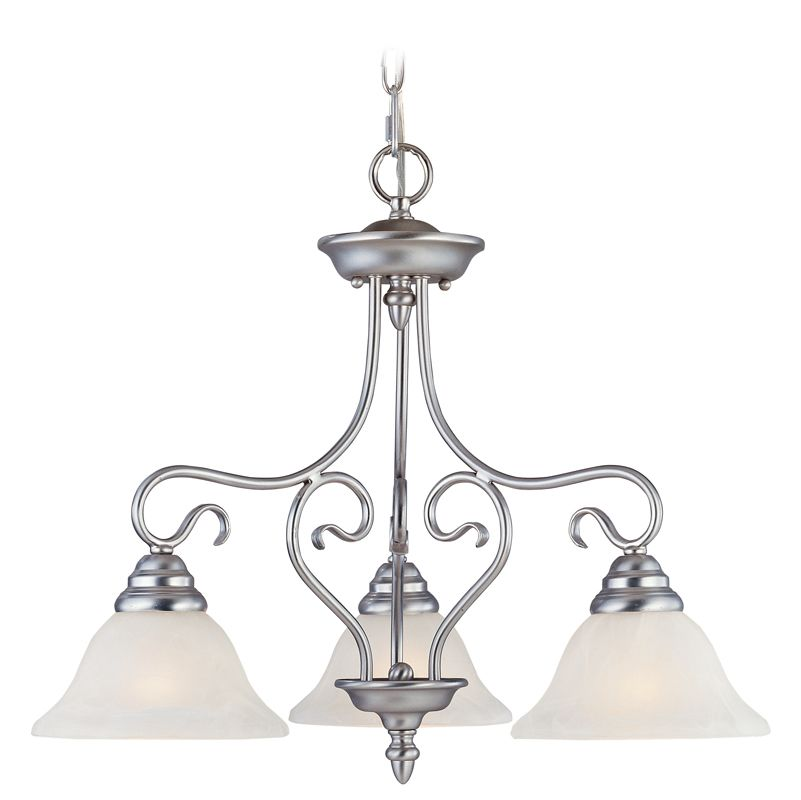 Livex Lighting 6133 Coronado 3 Light Semi-Flush Ceiling Fixture Sale $179.90 ITEM: bci1034329 ID#:6133-91 UPC: 847284002173 :