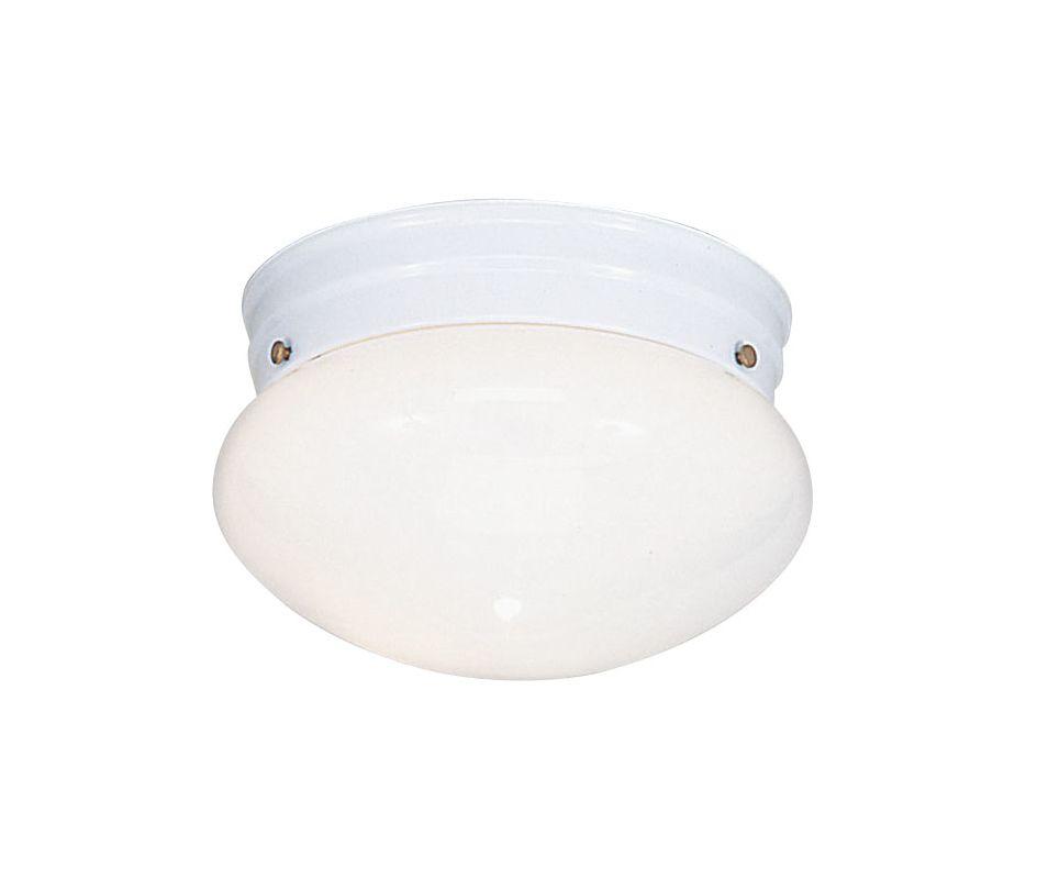 Livex Lighting 7002 Home Basics 1 Light Flush Mount Ceiling Fixture