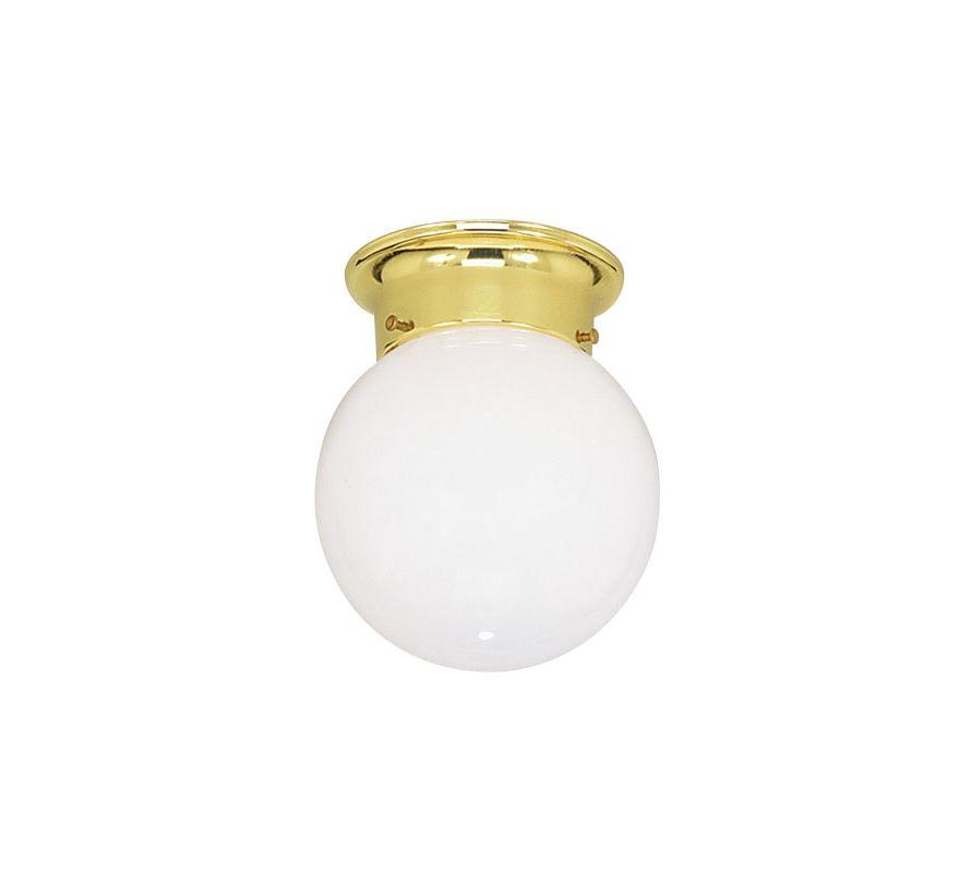 Livex Lighting 7004 Ceiling Mounts 1 Light Flush Mount Ceiling Fixture