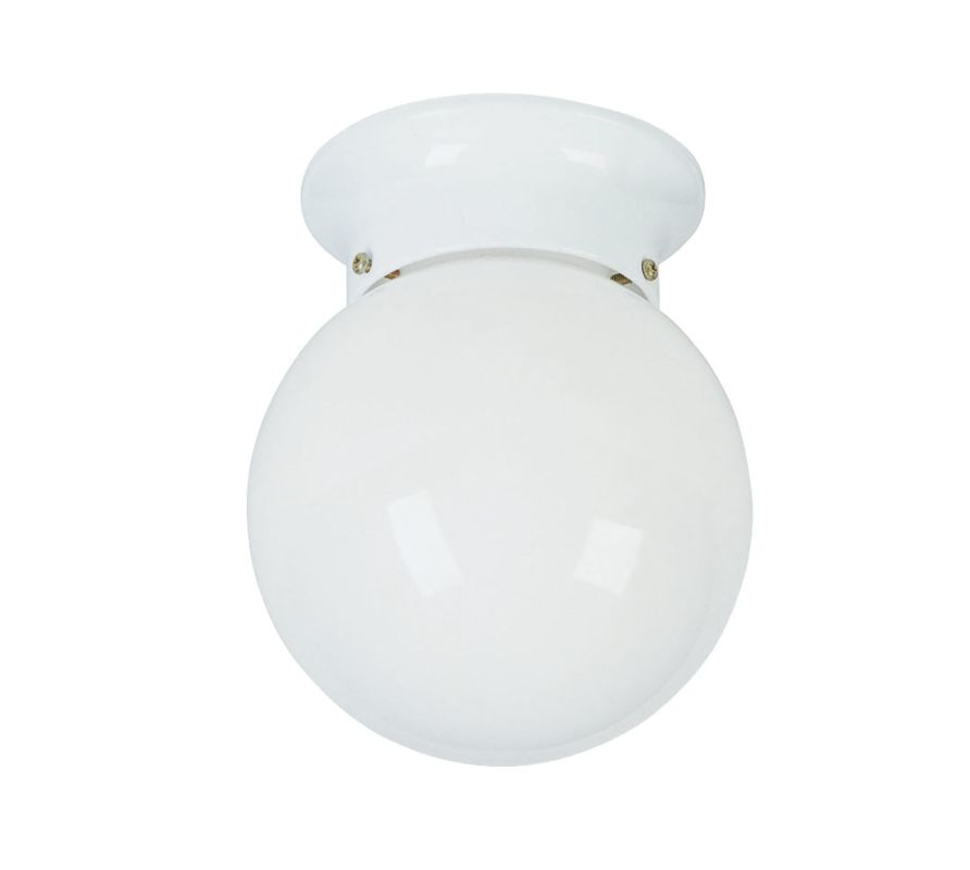 Livex Lighting 7004 Ceiling Mounts 1 Light Flush Mount Ceiling Fixture