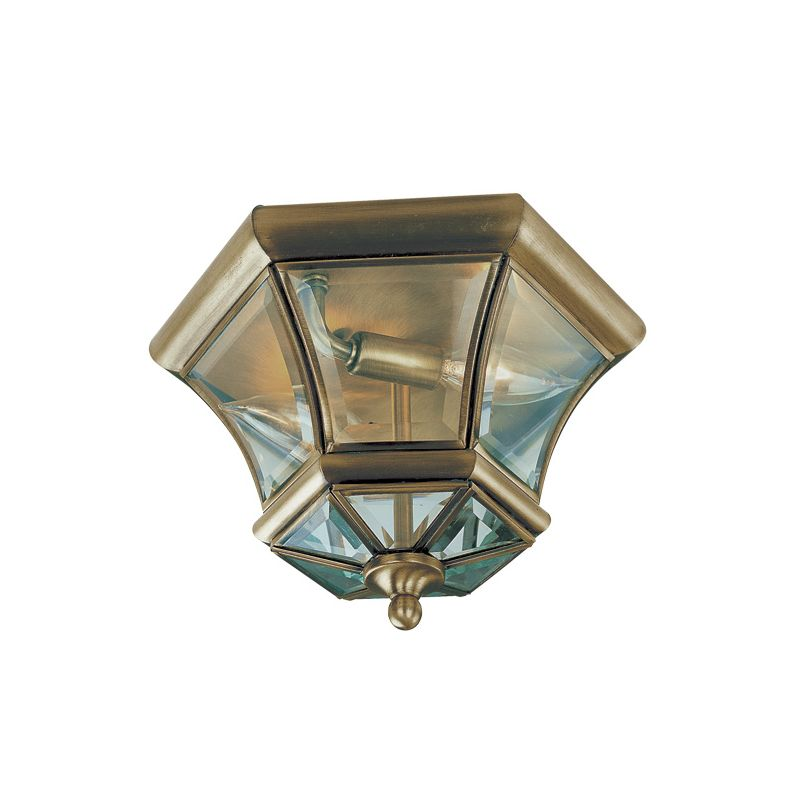 Livex Lighting 7052 Monterey/Georgetown 2 Light Flush Mount Ceiling Sale $139.90 ITEM: bci1034413 ID#:7052-01 UPC: 847284011861 :