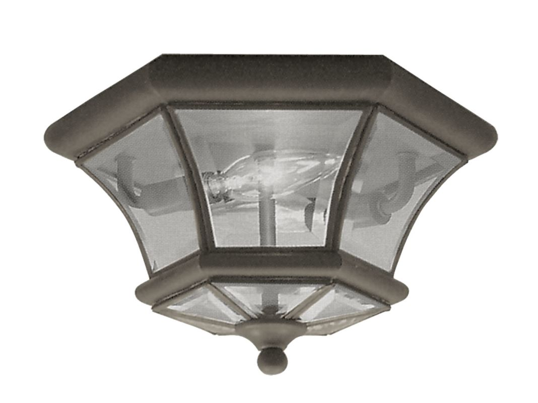 Livex Lighting 7052 Monterey/Georgetown 2 Light Flush Mount Ceiling Sale $139.90 ITEM: bci1034417 ID#:7052-07 UPC: 847284002425 :