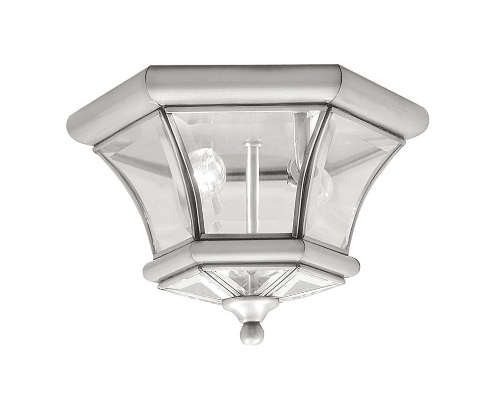 Livex Lighting 7052 Monterey/Georgetown 2 Light Flush Mount Ceiling Sale $139.90 ITEM: bci1034419 ID#:7052-91 UPC: 847284002432 :