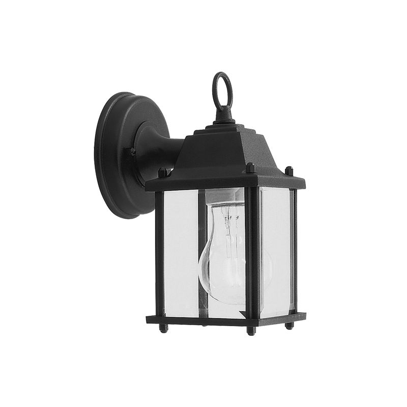 Livex Lighting 7506 Outdoor Basics 1 Light Outdoor Wall Sconce Black
