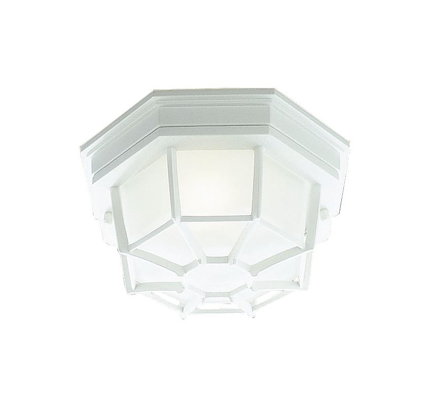 Livex Lighting 7509 Outdoor Basics 1 Light Flush Mount Outdoor Ceiling Sale $39.98 ITEM: bci1034537 ID#:7509-03 :