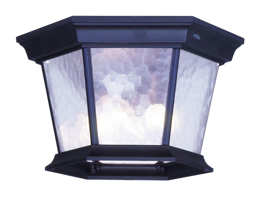 Livex Lighting 7510 Hamilton 3 Light Flush Mount Ceiling Fixture