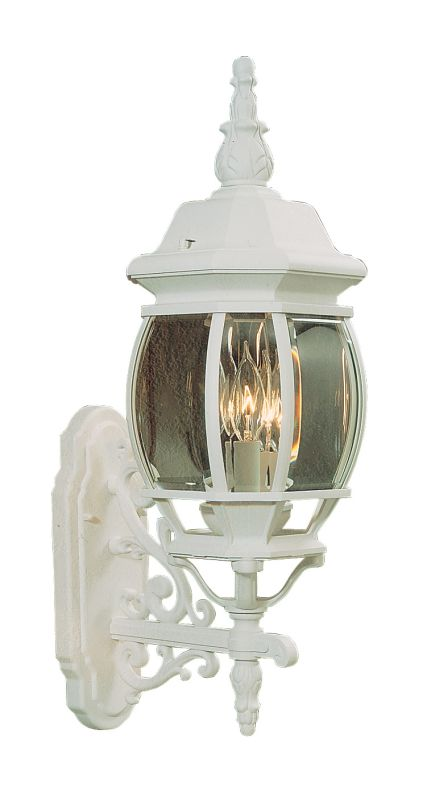 Livex Lighting 7524 Frontenac 3 Light Outdoor Wall Sconce White Sale $99.90 ITEM: bci1034558 ID#:7524-03 UPC: 847284012325 :