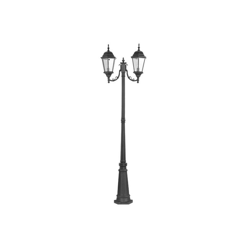 Livex Lighting 7554 Hamilton 2 Light Outdoor Post Light Black Outdoor