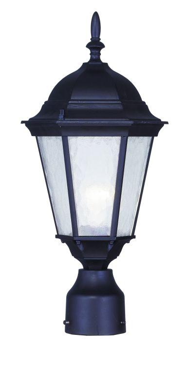 Livex Lighting 7558 Hamilton 1 Light Outdoor Post Light Bronze Outdoor