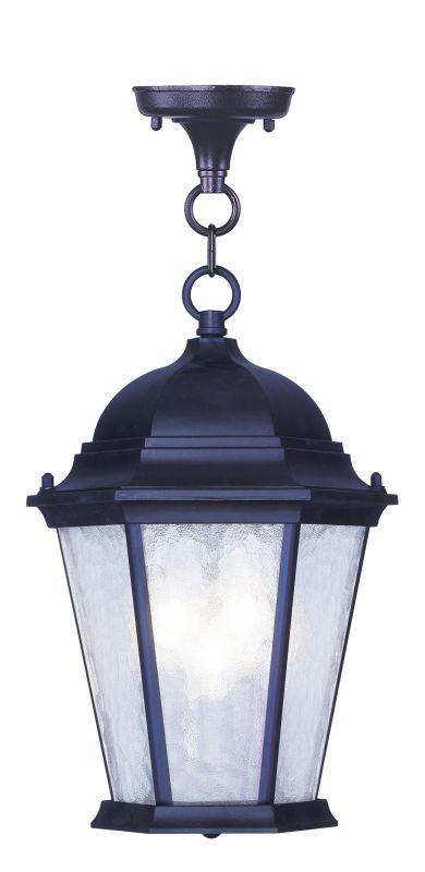 Livex Lighting 7564 Hamilton 3 Light Outdoor Pendant Bronze Outdoor