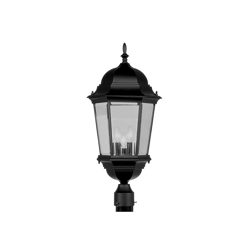 Livex Lighting 7568 Hamilton 3 Light Outdoor Post Light Black Outdoor Sale $199.90 ITEM: bci1034603 ID#:7568-04 :