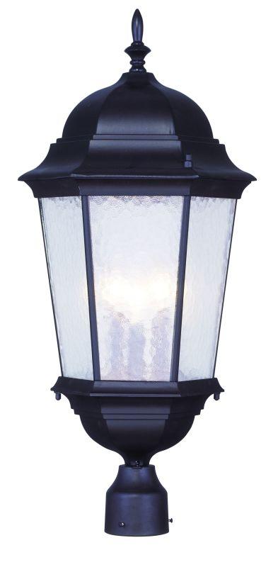 Livex Lighting 7568 Hamilton 3 Light Outdoor Post Light Bronze Outdoor