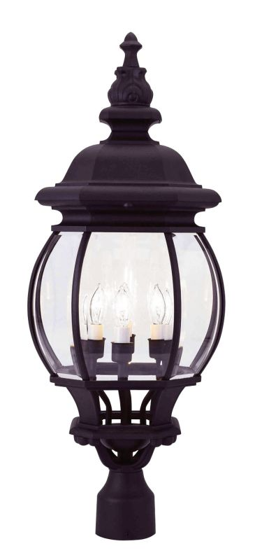 Livex Lighting 7703 Frontenac 4 Light Outdoor Post Light Black Outdoor Sale $199.90 ITEM: bci1034663 ID#:7703-04 :