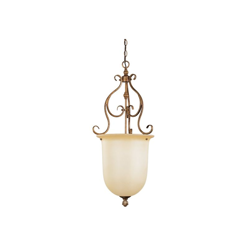 Livex Lighting 8296 Bistro 1 Light Pendant Venetian Patina Indoor