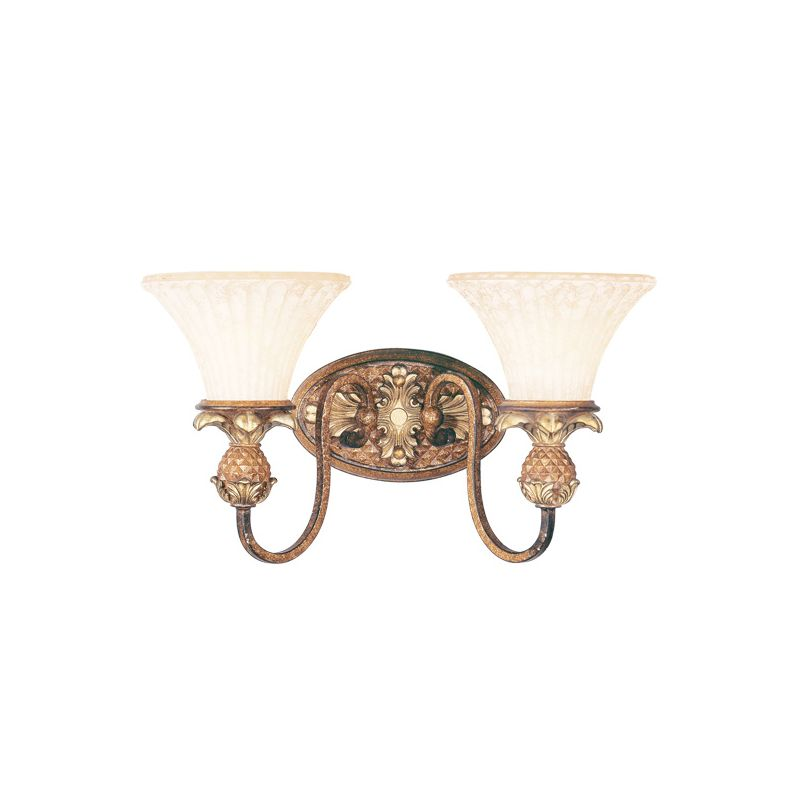 Livex Lighting 8422 Savannah 2 Light Bathroom Vanity Light Venetian