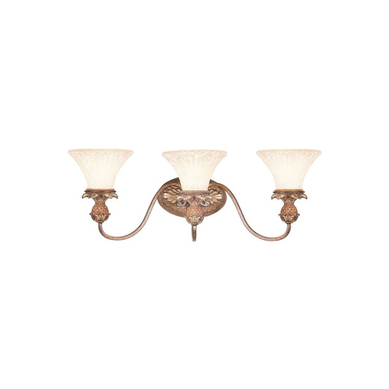 Livex Lighting 8423 Savannah 3 Light Bathroom Vanity Light Venetian