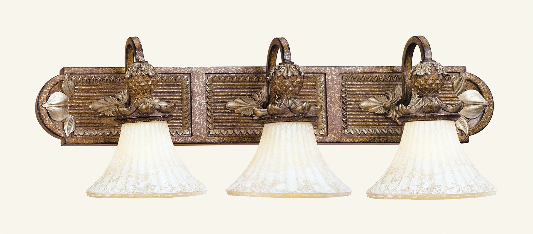 Livex Lighting 8463 Savannah 3 Light Bathroom Vanity Light Venetian