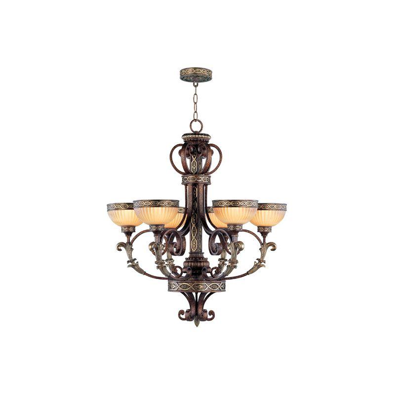 Livex Lighting 8526 Seville 6 Light 1 Tier Chandelier Palacial Bronze Sale $1499.90 ITEM: bci1035013 ID#:8526-64 :