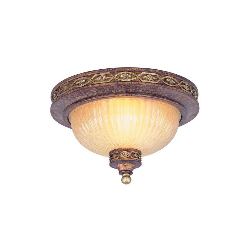 Livex Lighting 8541 Seville 2 Light Flush Mount Ceiling Fixture