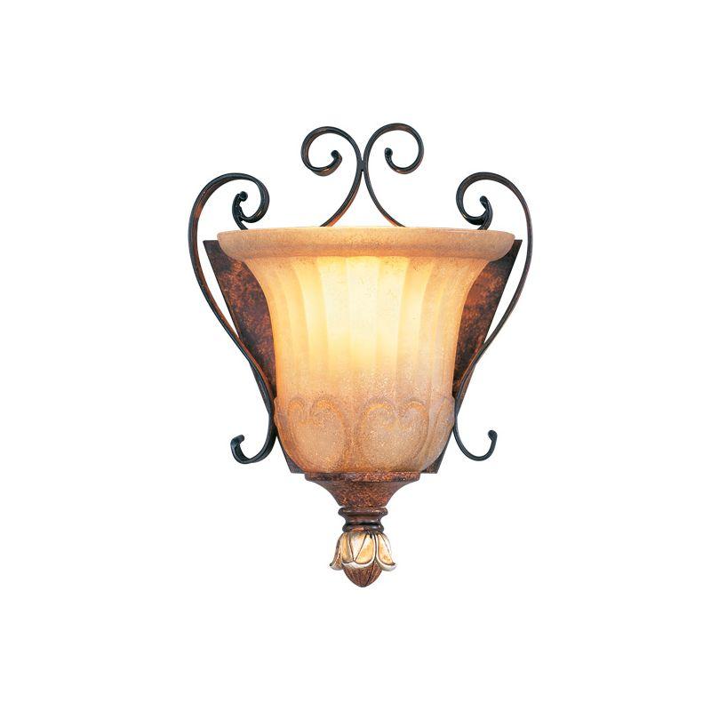 Livex Lighting 8560 Villa Verona 1 Light Wall Sconce Verona Bronze