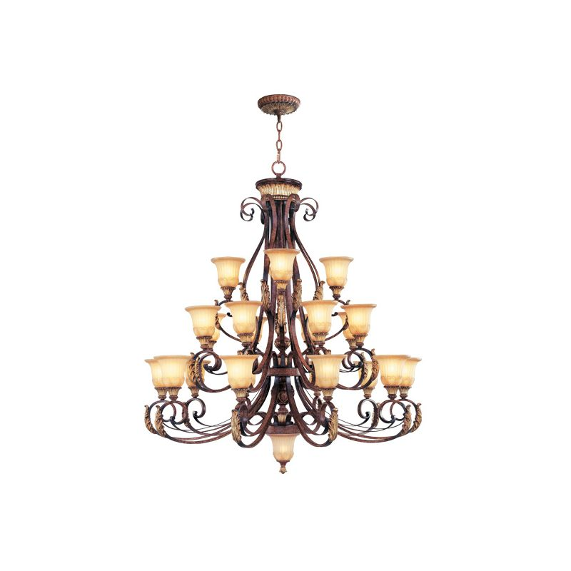 Livex Lighting 8569 Villa Verona 22 Light 3 Tier Chandelier Verona