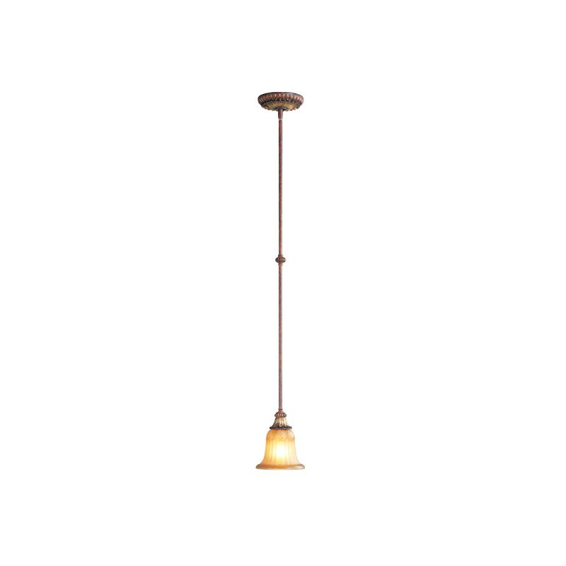 Livex Lighting 8570 Villa Verona 1 Light Pendant Verona Bronze Indoor Sale $99.90 ITEM: bci1035050 ID#:8570-63 UPC: 847284021969 :