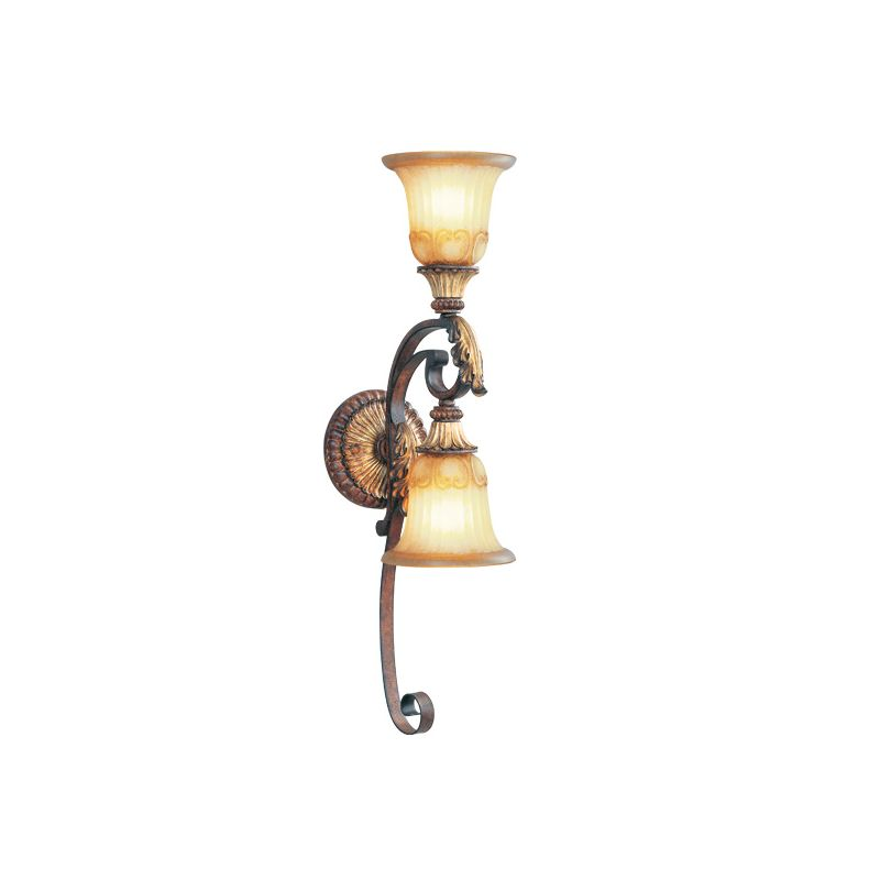 Livex Lighting 8572 Villa Verona 2 Light Wall Sconce Verona Bronze Sale $199.90 ITEM: bci1035051 ID#:8572-63 UPC: 847284003101 :