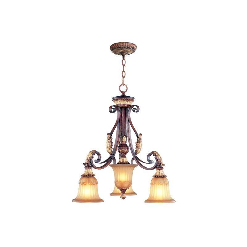 Livex Lighting 8573 Villa Verona 3 Light Single Tier Chandelier Verona