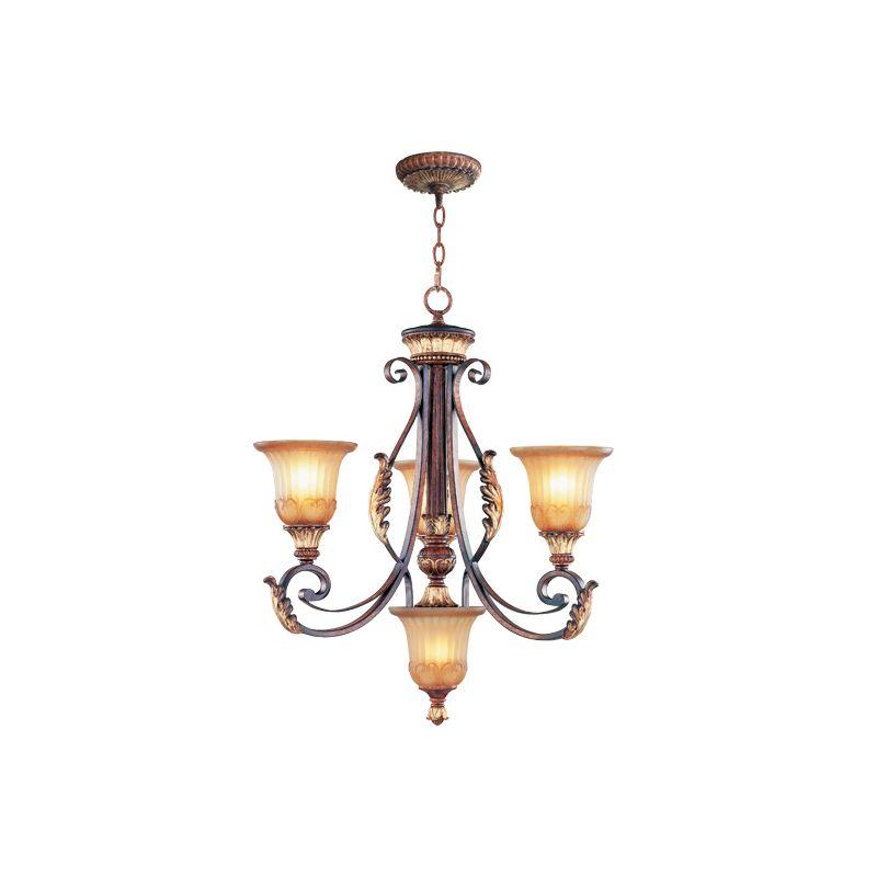 Livex Lighting 8574 Villa Verona 3 Light Single Tier Chandelier Verona