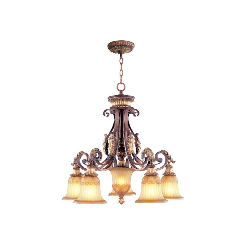Livex Lighting 8575 Villa Verona 5 Light Single Tier Chandelier Verona