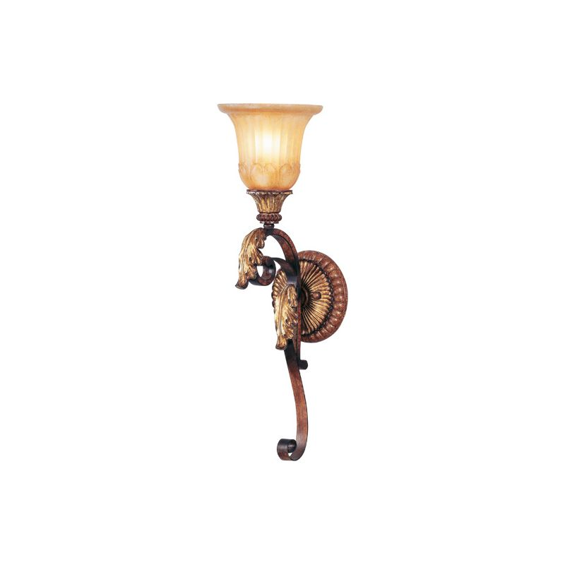 Livex Lighting 8581 Villa Verona 1 Light Wall Sconce Verona Bronze