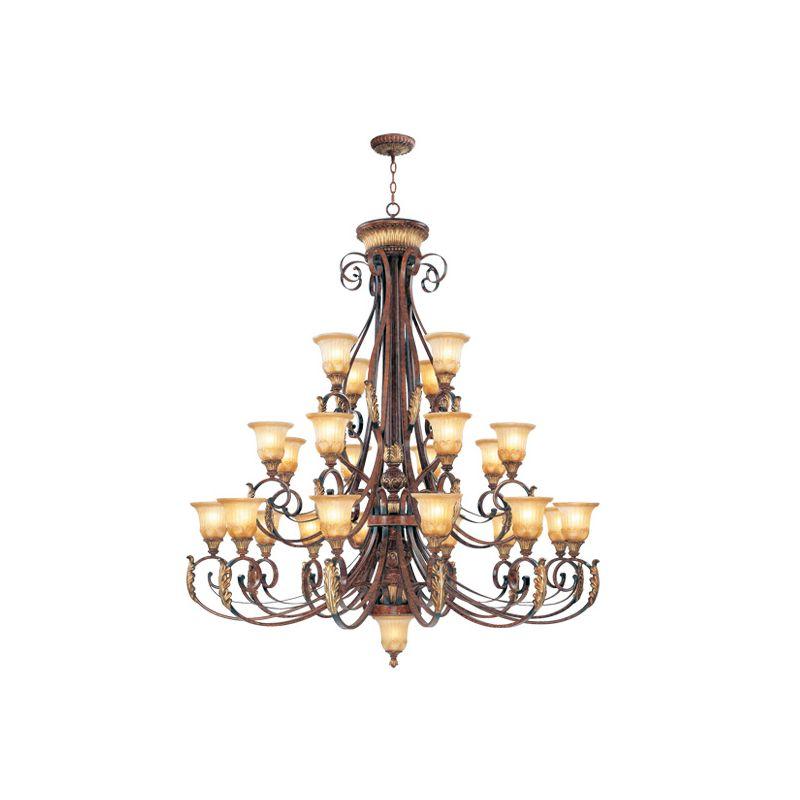 Livex Lighting 8589 Villa Verona 24 Light 3 Tier Chandelier Verona