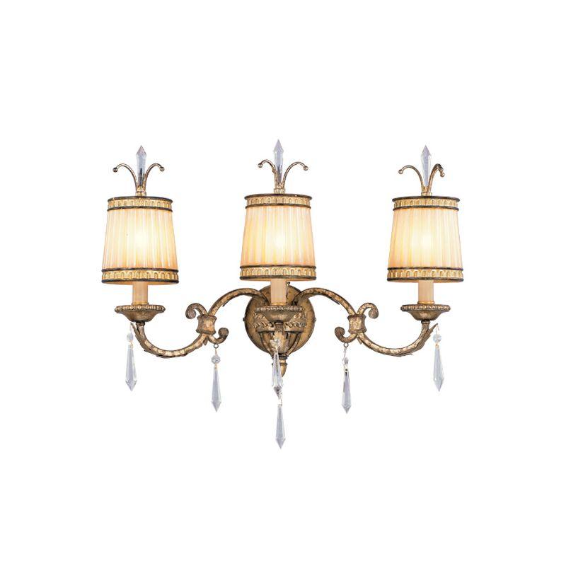 Livex Lighting 8813 La Bella 3 Light Bathroom Vanity Light Vintage Sale $719.91 ITEM: bci1035095 ID#:8813-65 UPC: 847284022492 :