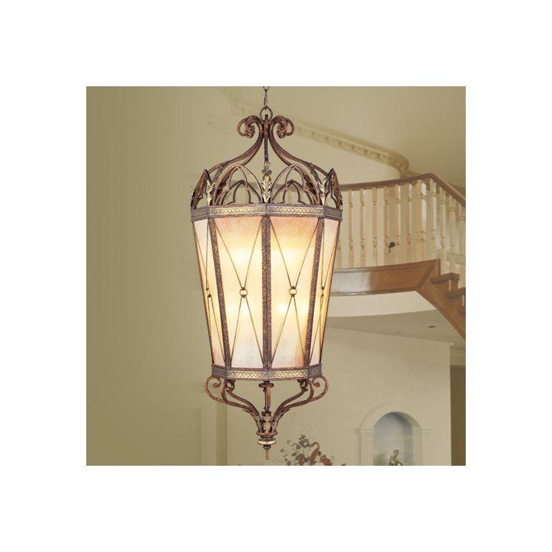 Livex Lighting 8838 Bristol Manor 16 Light Pendant Palacial Bronze