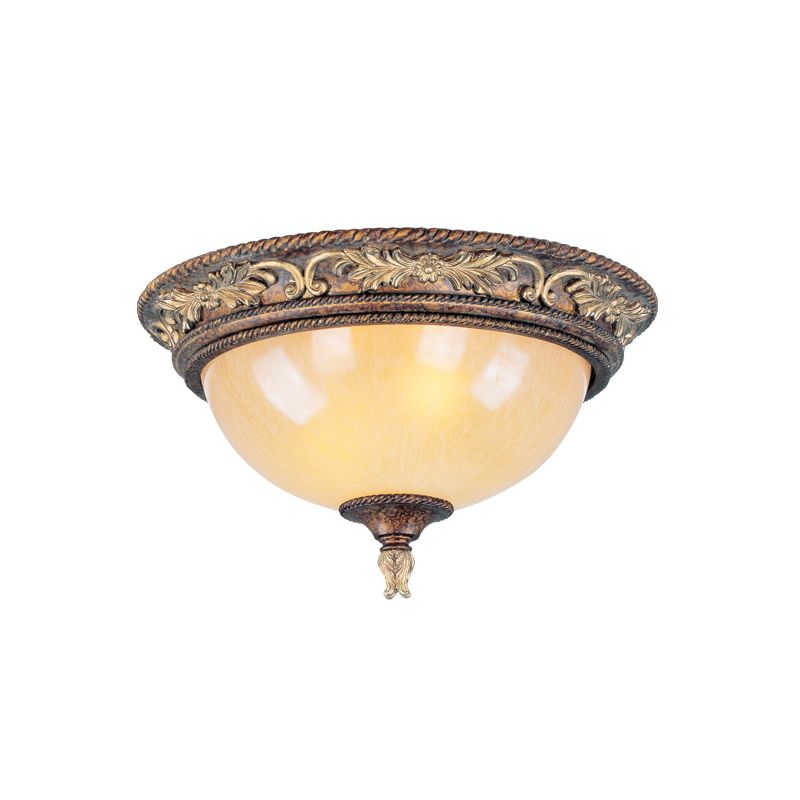Livex Lighting 8858 Pomplano 2 Light Flush Mount Ceiling Fixture Sale $199.90 ITEM: bci1035129 ID#:8858-64 UPC: 847284022751 :