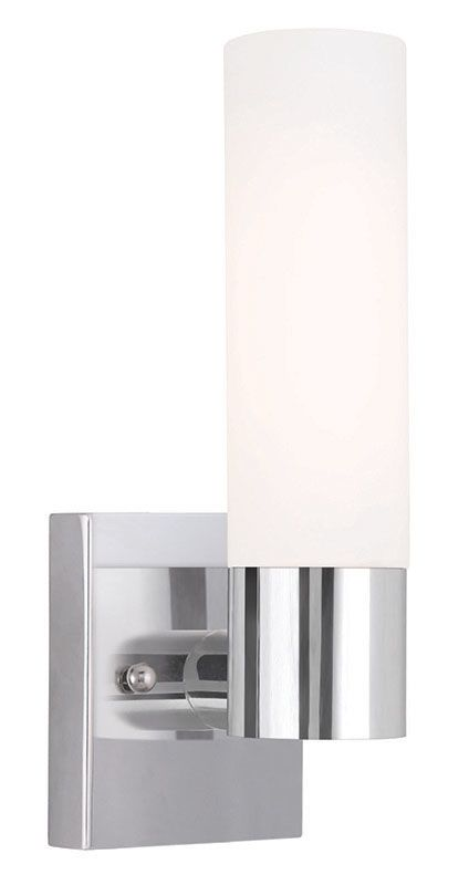 Livex Lighting 10101 Aero 1 Light ADA Compliant Wall Sconce Chrome