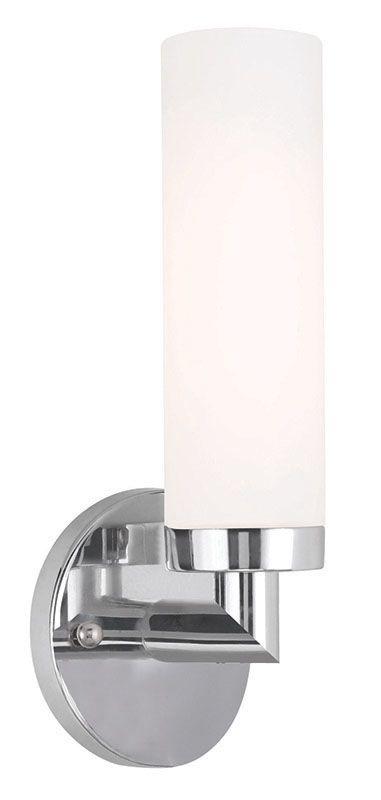 Livex Lighting 10103 Aero 1 Light ADA Compliant Wall Sconce Chrome