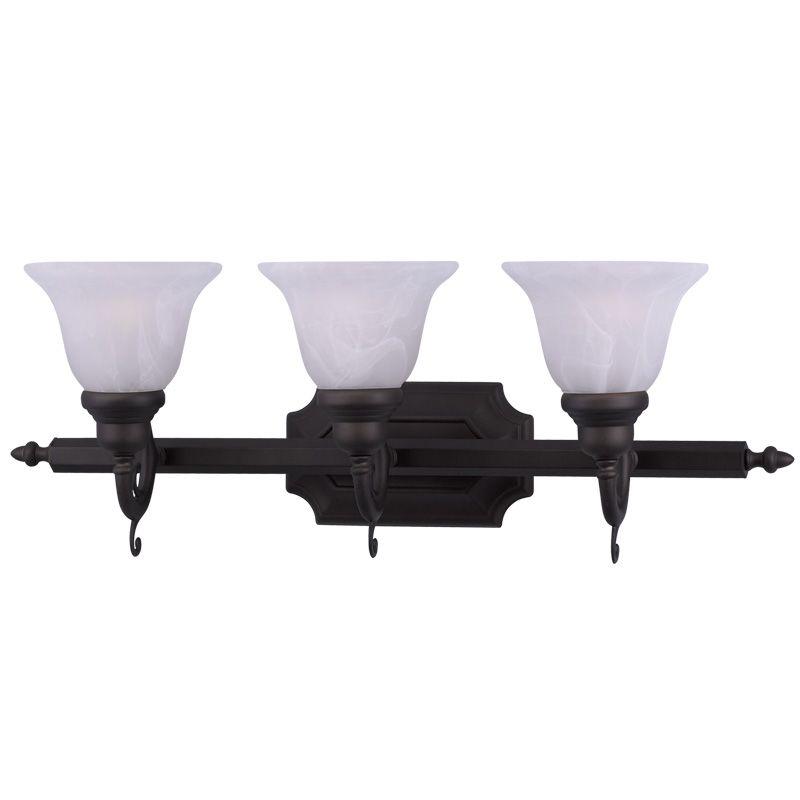 Livex Lighting 1283 French Regency 3 Light Bathroom Vanity Light Sale $215.91 ITEM: bci2233033 ID#:1283-07 UPC: 847284038387 :