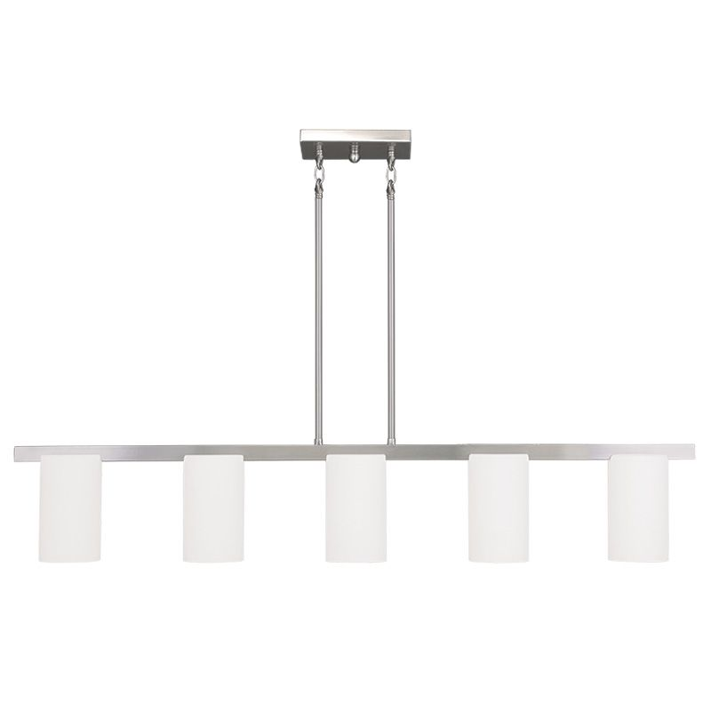 Livex Lighting 1327 Astoria 5 Light 1 Tier Chandelier Brushed Nickel Sale $339.90 ITEM: bci2233042 ID#:1327-91 UPC: 847284037267 :