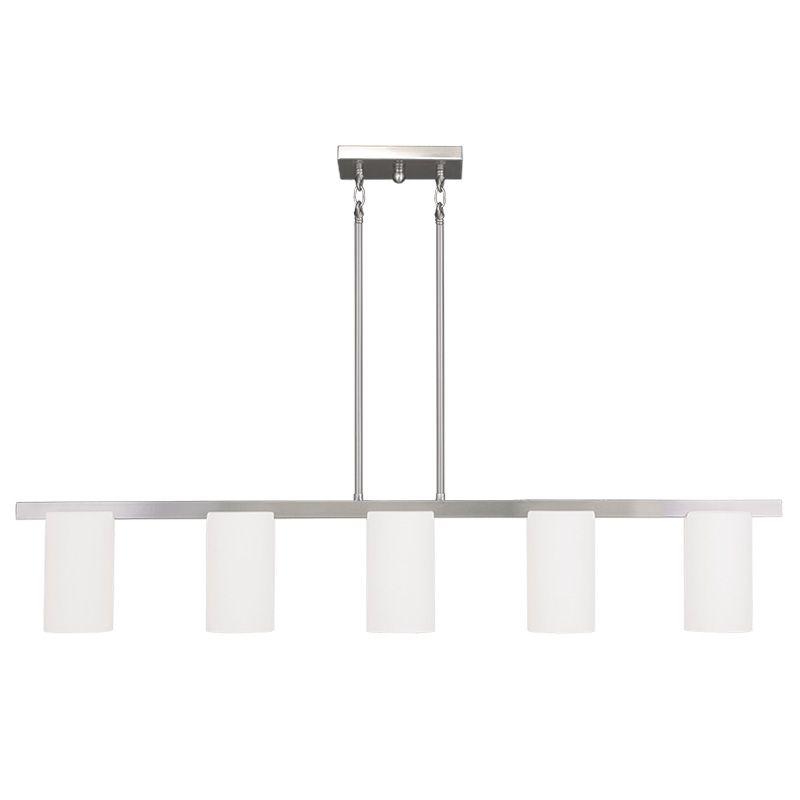 Livex Lighting 1327 Astoria 5 Light 1 Tier Chandelier Brushed Nickel Sale $339.90 ITEM: bci2233042 ID#:1327-91 UPC: 847284037267 :