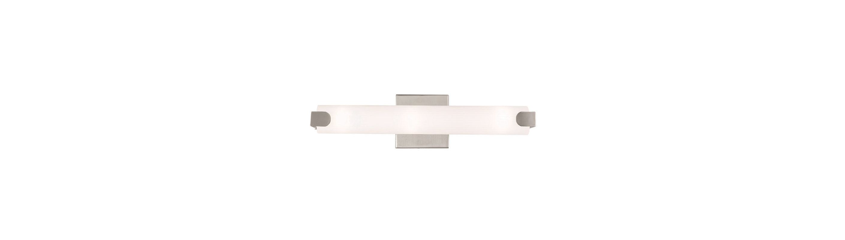 Livex Lighting 16382 Avelar 1 Light ADA Compliant LED Bath Bar Brushed