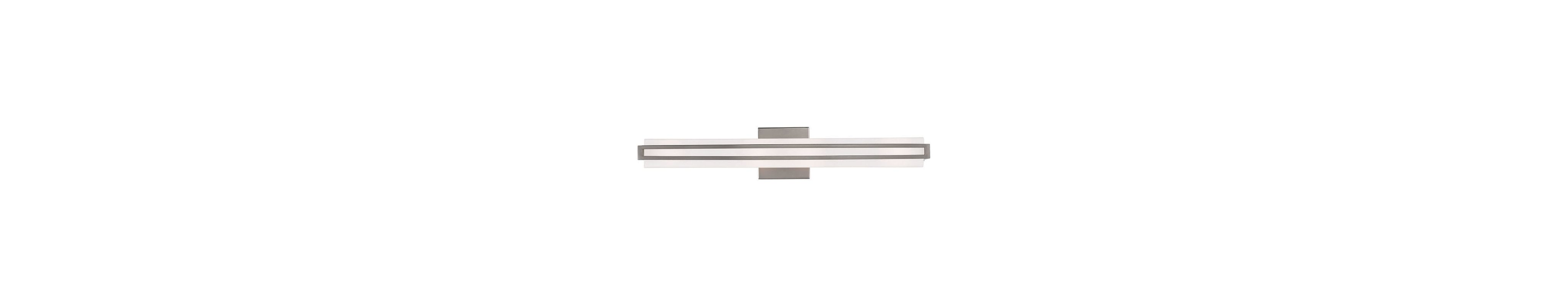 Livex Lighting 16393 Eclipse 1 Light ADA Compliant LED Bath Bar
