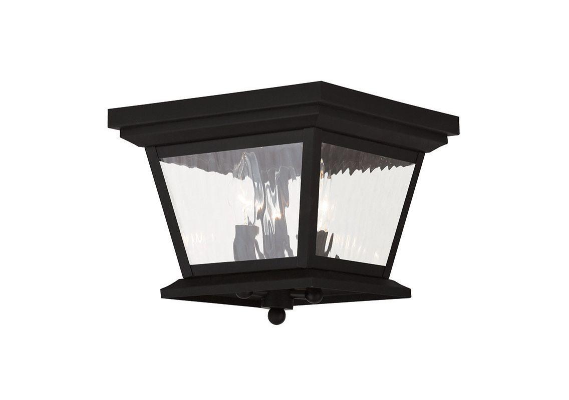Livex Lighting 20239 Hathaway 3 Light Outdoor Flush Mount Ceiling