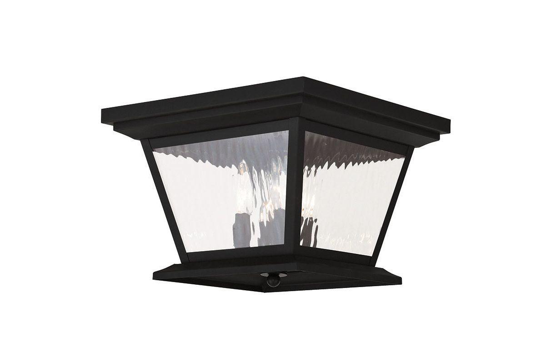 Livex Lighting 20249 Hathaway 4 Light Outdoor Flush Mount Ceiling